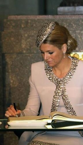 Queen Maxima is such a lady with a fabulous style!