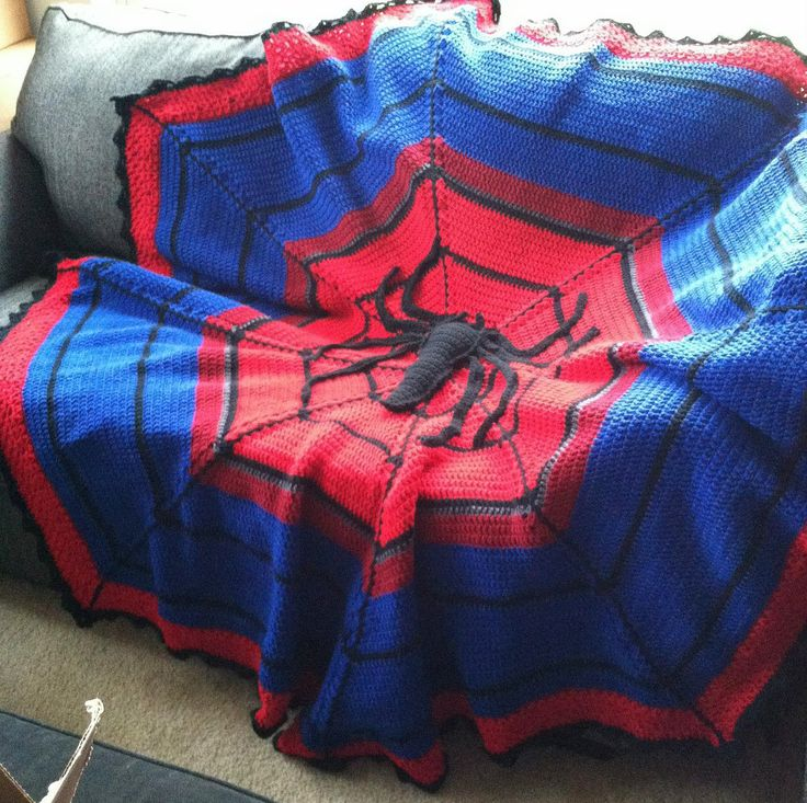 Superhero Crochet Patterns And Blankets Graphghan