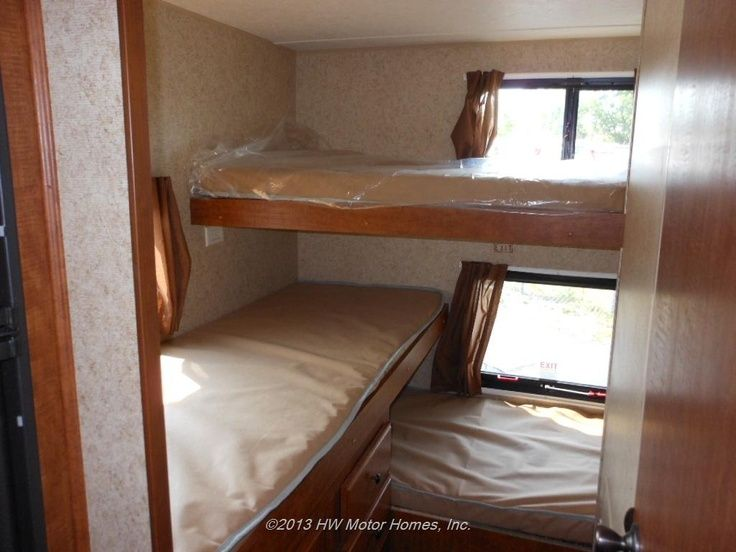 Travel Trailer Makeover Part 9 Bunk Beds And Windows
