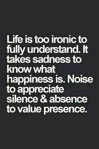 Understanding Life....