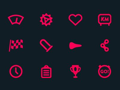 _velo_icons_dribbble: Icons Galleries, Cycling Icons, Icons Dribbble, Velo Icons, Icons 순수, Icons Design, Icons Insignia, Cycle Icons, Amazing Icons