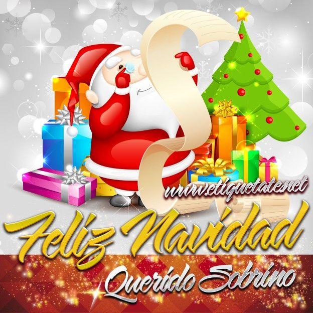 Feliz Navidad Sobrino Feliz Navidad Pinterest