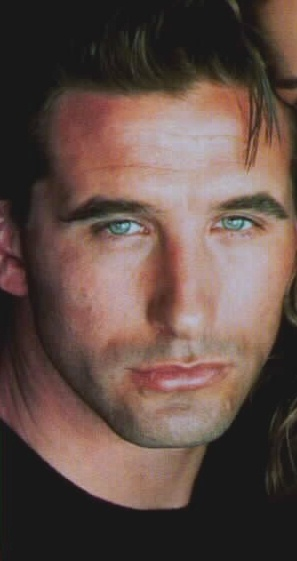 By FAR he got the good looks of all the Baldwin brothers:  Billy Baldwin and those killer good looks!