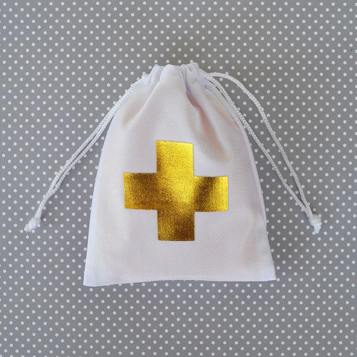 Gold Cross Bachelorette Party Favors - Hangover Kit - Party Favor Bag