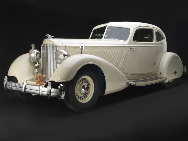 1934 Packard Twelve Model 1106 Sport Coupe