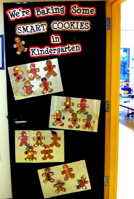 December 2011 Classroom Door: Gingerbread Cookies