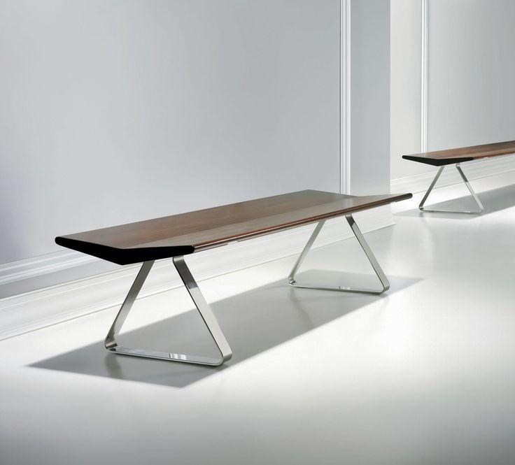 Contemporary Bench Wooden Fly By Yves Béhar Bernhard Design Indoor Benchesoffice Furniturefurniture