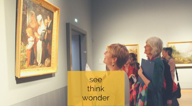 Join us for a one or two day Visible Thinking Workshop in Amsterdam! 17 & 18 September 2015.
