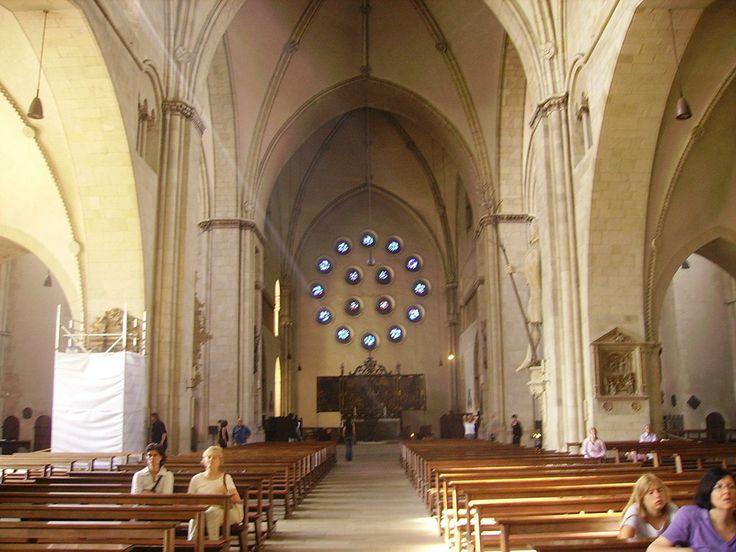 Münster Kathedrale St. Paulus. Реконструкция собора после утраты фасада.