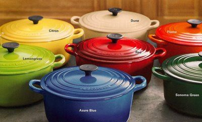 Le Creuset - my dream pot!! <3