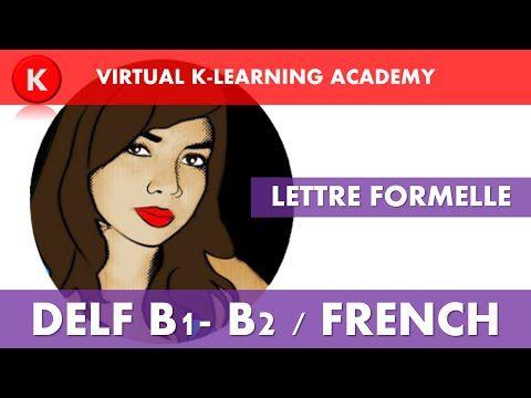 DELF B2: Lettre formelle - YouTube