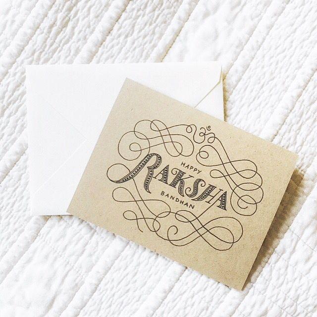 Raksha Bandhan card!