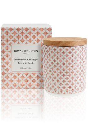 Royal Doulton Pastels Gardenia & Szechuan Pepper Candle