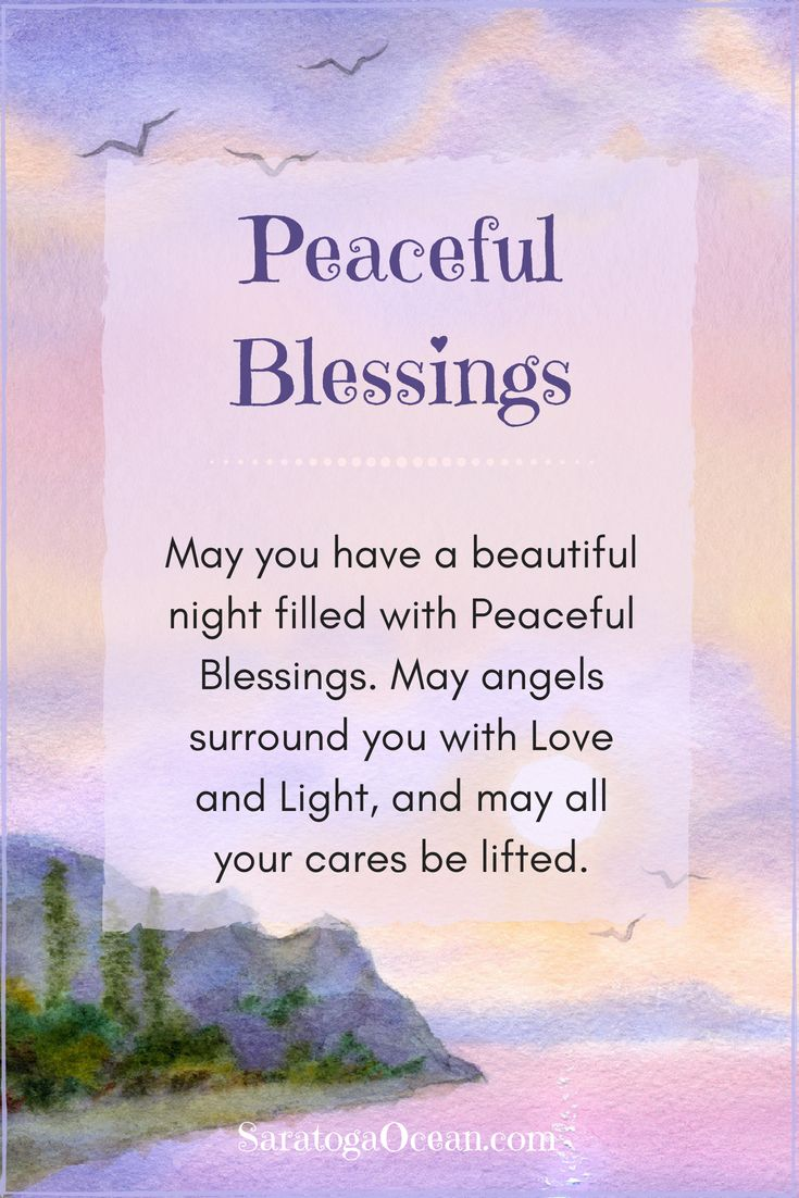 Sending You Peaceful Blessings For A Relaxing Rejuvenating Night Good Night Prayer Good Night Blessings Good Night Quotes