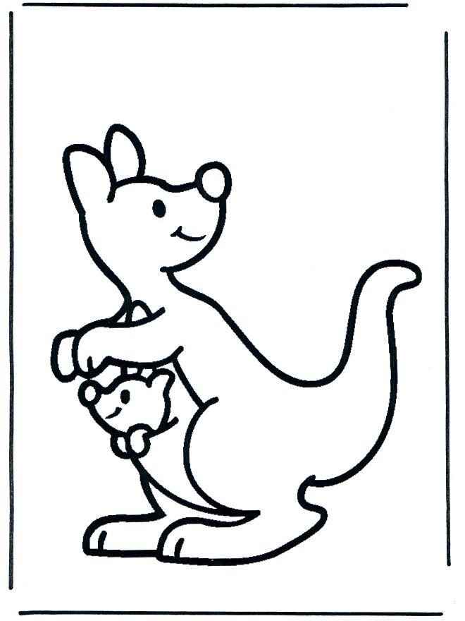 Printable Kangaroo Coloring Pages With Pictures To Color : Printable Kangaroo  Coloring Pages With Pictures To Color Ideas Gallery : Free Coloring Pages  For ...
