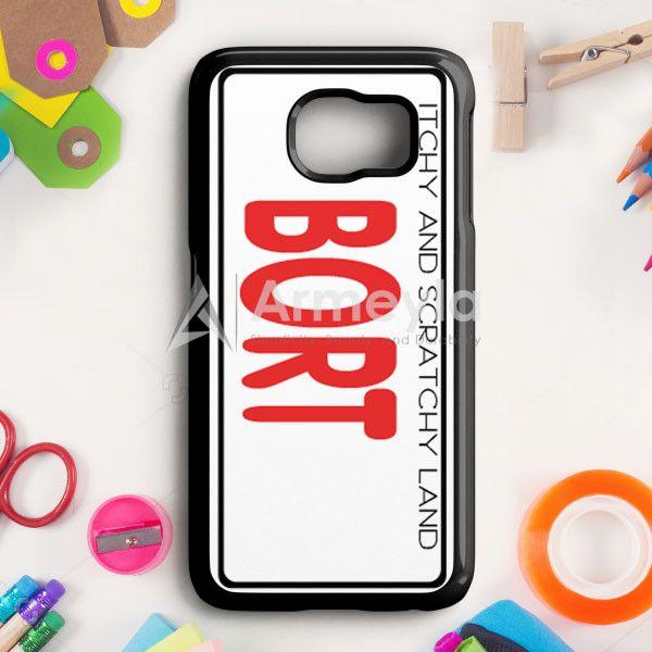 Bort License Plate Cover Samsung Galaxy S6 Edge Plus Case   armeyla.com
