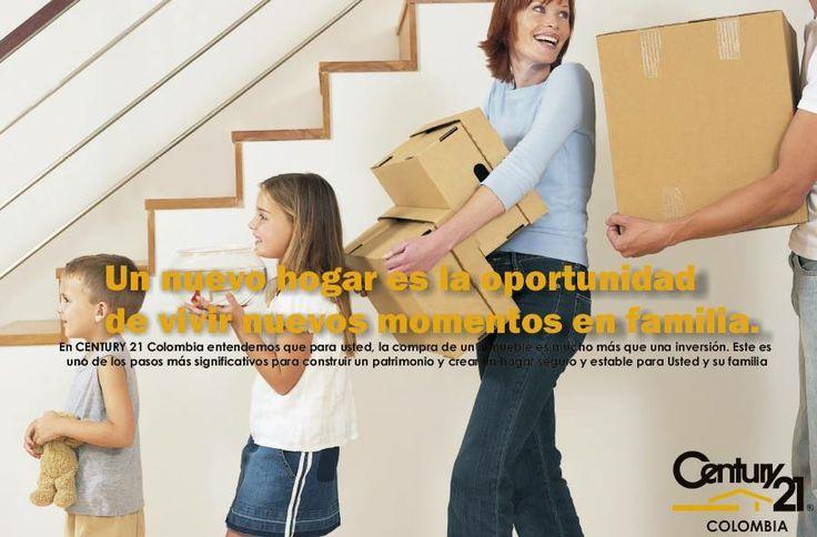 En CENTURY 21 Colombia entendemos que para usted, la compra de un inmueble es mucho más que una inversión. Este es uno de los pasos más significativos para construir un patrimonio y crear un hogar seguro y estable para Usted y su familia