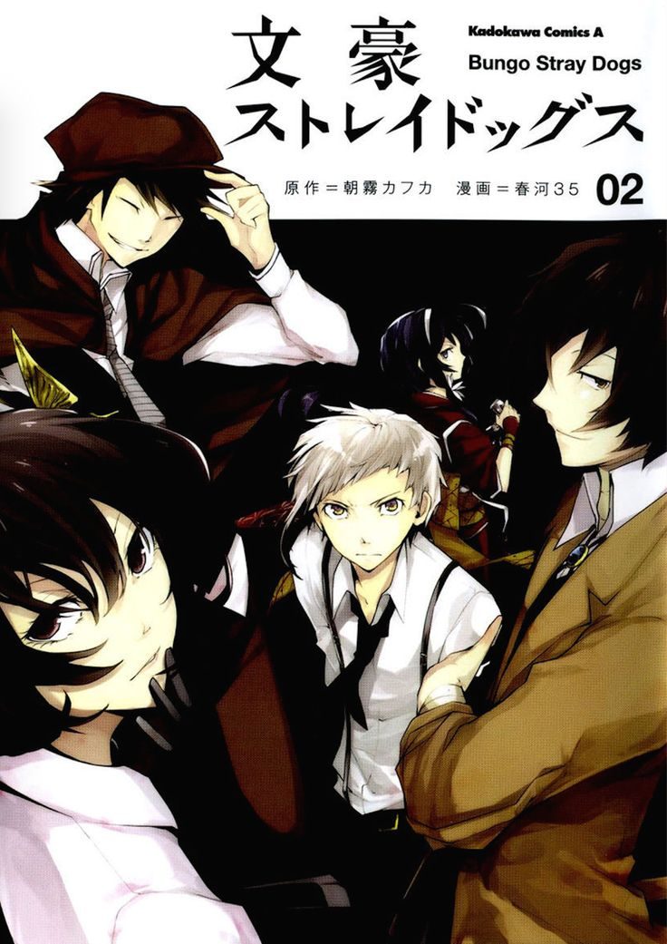 The book bungou stray dogs