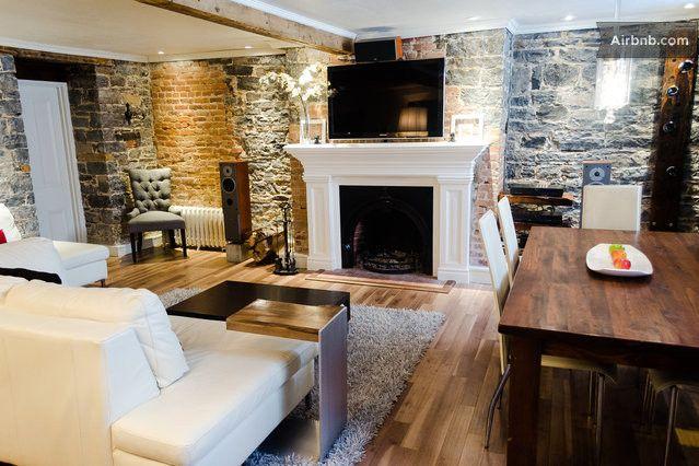 Condo de luxe dans le vieux Québec  in Quebec