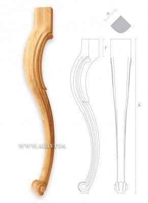 мебельная ножка для стола MN-037 фото