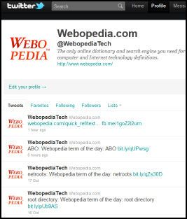 Webopedia world wide web