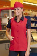 Siete pronti per il cambio di stagione? Gilet Casacca Lavoro Donna Ristorante Sala Alimentare Cassa Abbigliamento Abiti