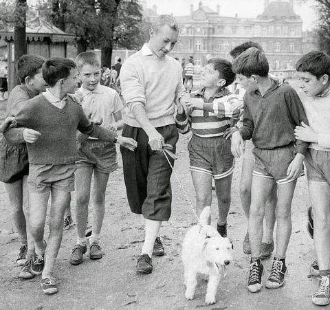 Jean Pierre Talbot as Tintin Il 'Tintin et le secret de la Toison d'or' from 1961 & 'Tintin et les oranges bleues' from 1964.