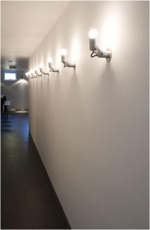 Modular Nomad Minimal E27 ultra short alu Wall | Wand/plafondarmaturen | DJARA DESIGN