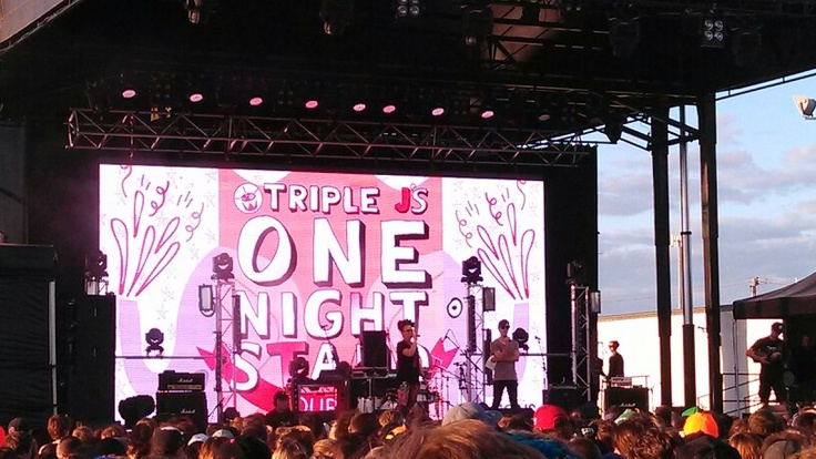 Triple J One Night Stand @Deborah Docherty #triplejons