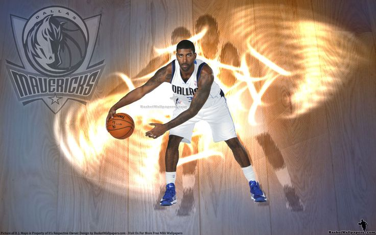 O. J. Mayo in Dallas Mavericks jersey... Source: http://www.basketwallpapers.com