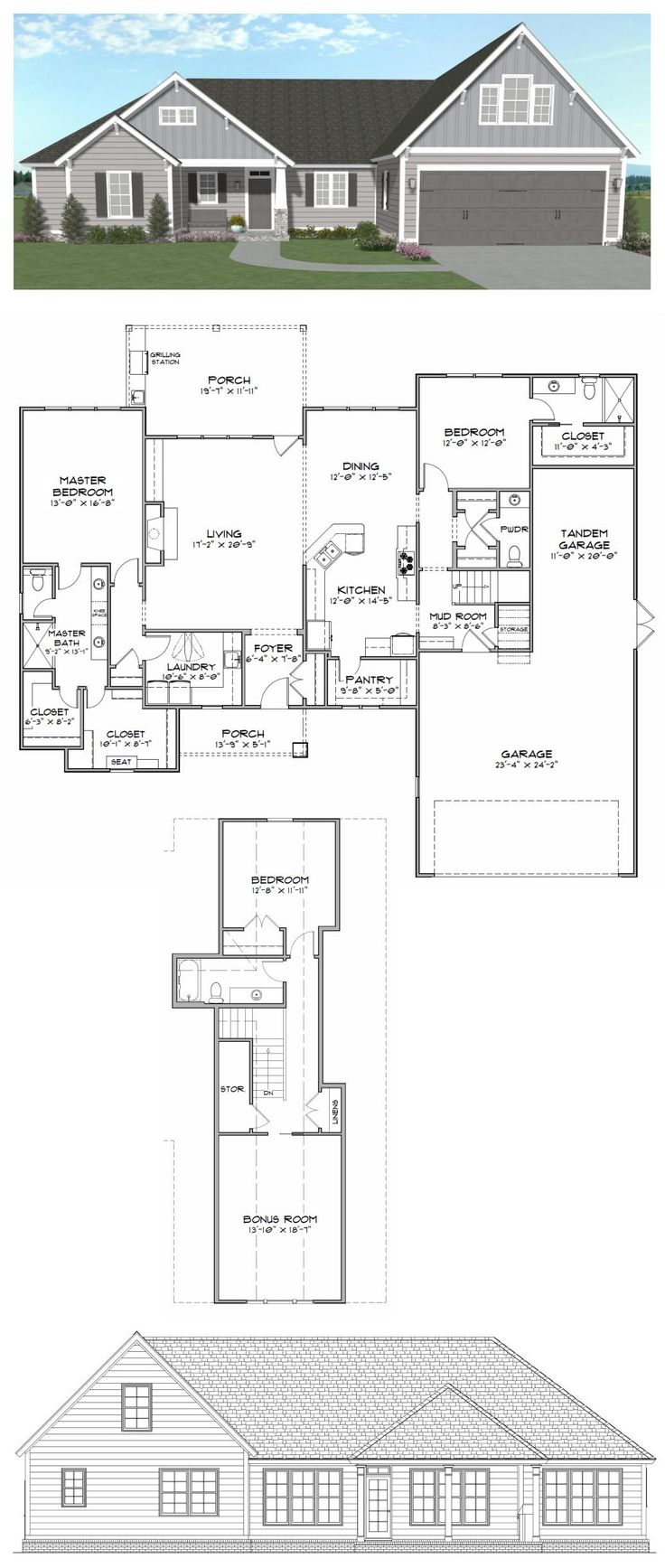 19 best house plans 2000 2800 sq ft images on pinterest for House floor plans 2000 square feet