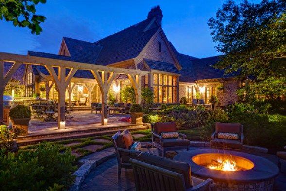 Traditional Landscape by Bolingbrook Landscape Architects & Landscape Designers Hursthouse Landscape Architects and Contractors