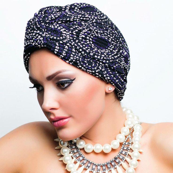 مصممة التوربان مي العايد لـ هي: أوجدت سرّاً جديدا لأناقة المرأة تابعي لقاءها مع هي على هذا الرابط: http://hia.li/1w1pqxe  #Fashion #KSA #Saudi #Design #headturbans #Turbanfashion #FashionDesigner #أزياء #موضة #السعودية #المملكة