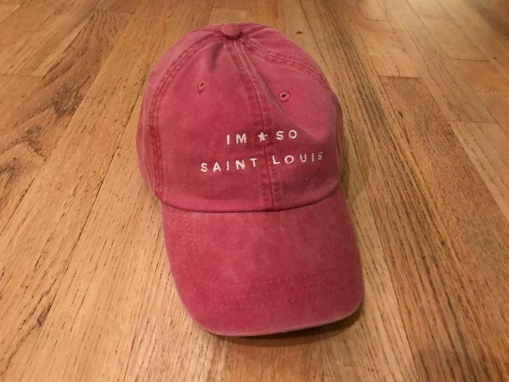IM SO SAINT LOUIS - Dad style baseball cap