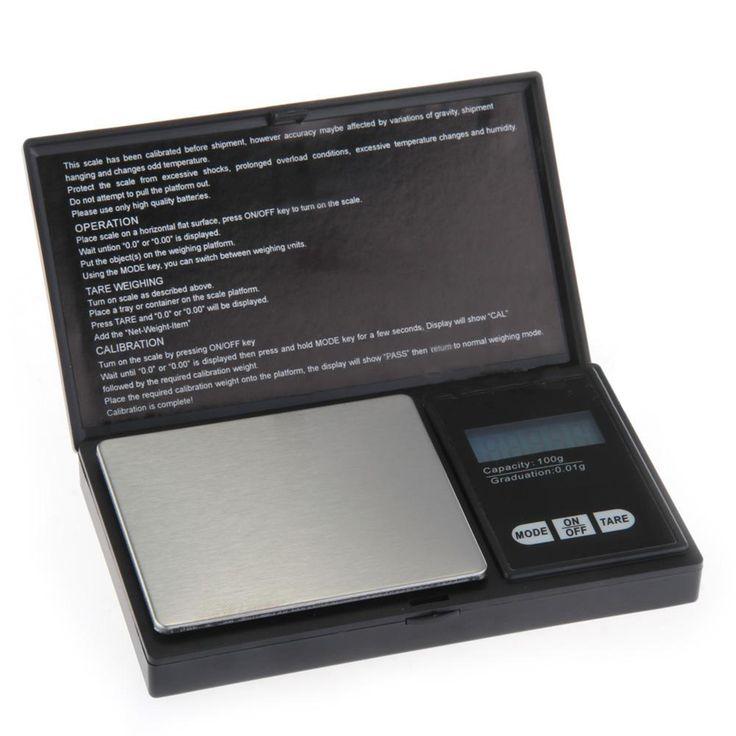 Hotsale 1PC High Quality Mini Digital Pocket Scale Lcd Display Balance Weigh Scale 100g x 0.01g