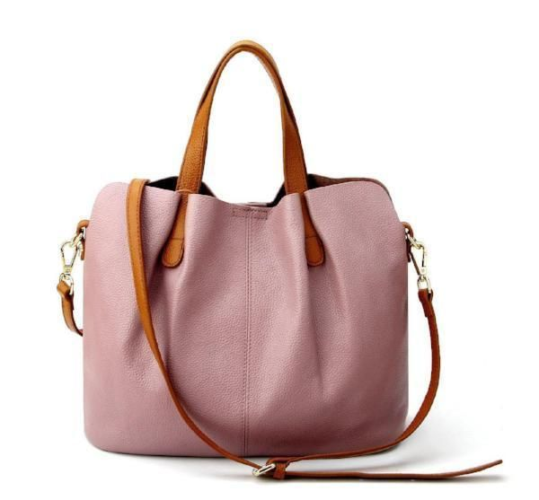 Beautiful Summer Leather Tote Bag