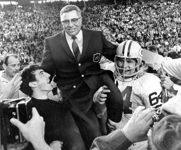 Green Bay Packers coach Vince Lombardi