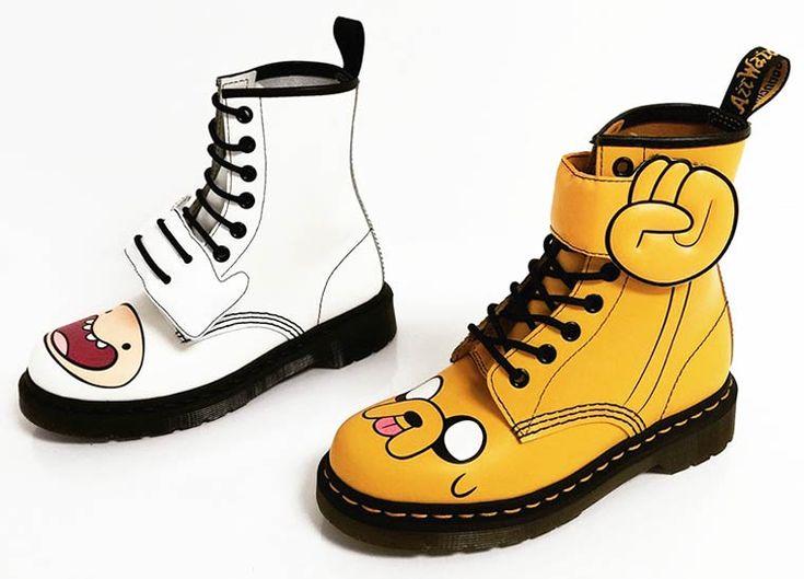 Adventure Time x Dr. Martens – Des chaussures pour les fans de Finn et Jack