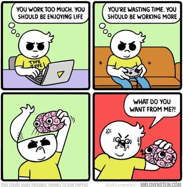 Pin By Kumiko Gray On Intj Creepy Comics Funny Comic Strips Funny Memes