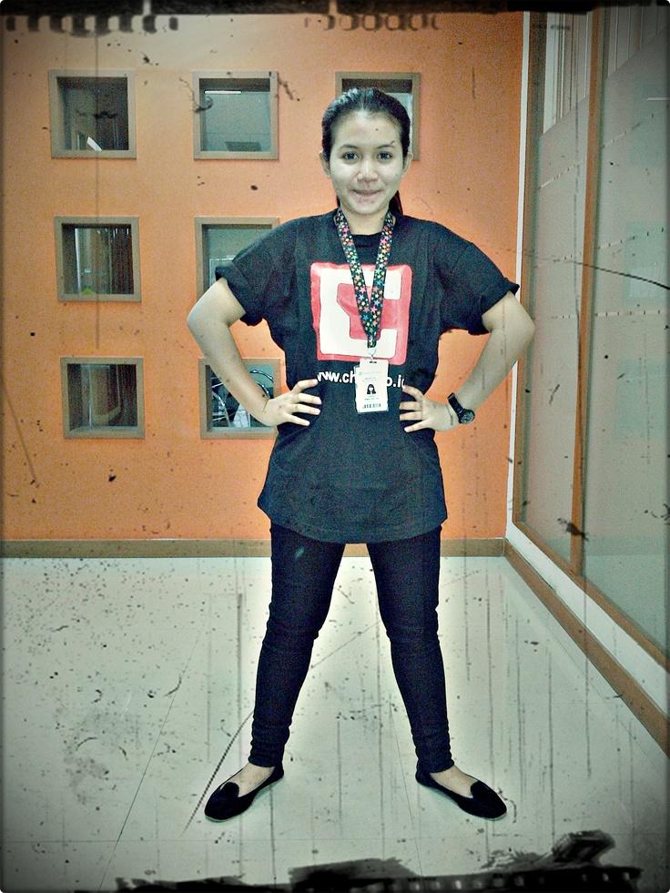 Saya adalah SUPER CHIP GIRL (^o^)v