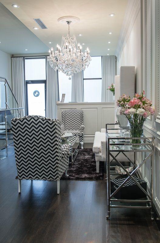 Luxury lounge at Avenue Plastic Surgery - Dr. Alexander Golger