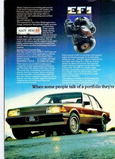 XE Fairmont Ghia 1983