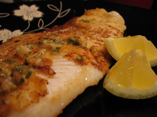 Pan Fried Paprika Pangasius - this was yummy, will definitely make it again