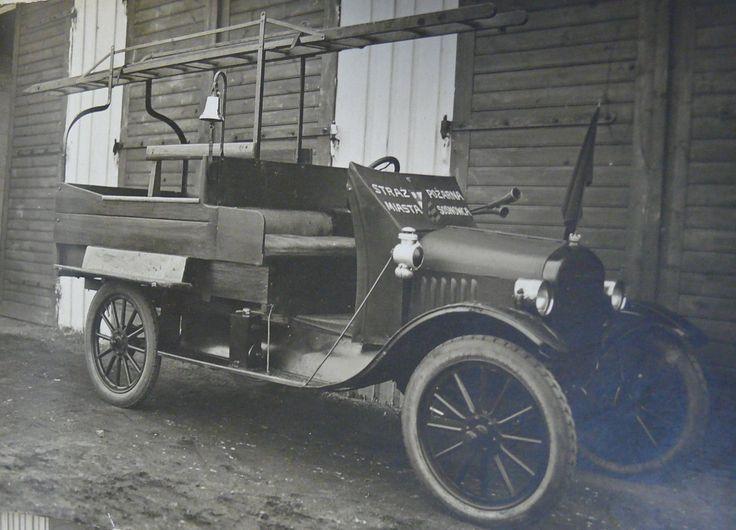 Rekwizytowy Ford T - Straż Pożarna Miasta Sosnowca
