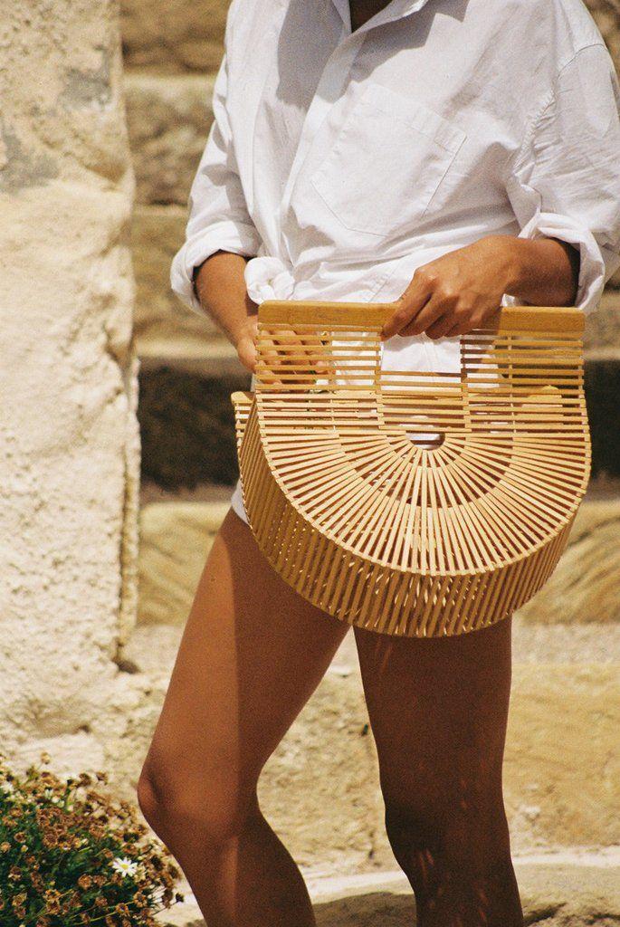 Large Cult Gaia - Gaia's Ark Bamboo Bag