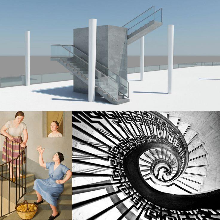 """Benvenuti sulle scale, vuole essere uno stimolo alla riflessione ispirato dal testo """"scale"""" contenuto nel volume Specie di spazi di Georges Perec."""