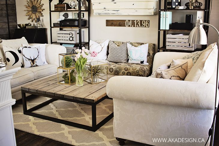 13 Of The Best Farmhouse Spring Decor Ideas For Your Home With Images Modern Furniture Living Room Rustic Living Room Living Room Furniture Uk