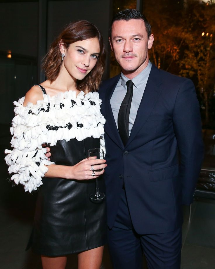 Chanel presents the MoMA Film Benefit | Alexa Chung and Luke Evans