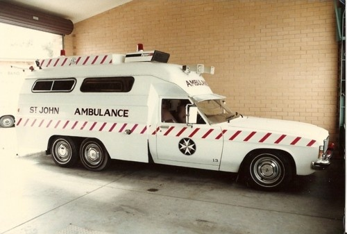 A St John vehicle from South Australia - 1970's