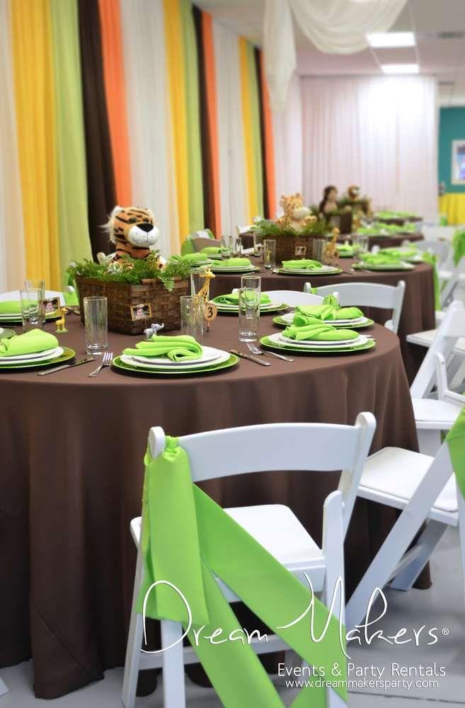 Jungle Safari Birthday Party Ideas | Photo 8 of 33